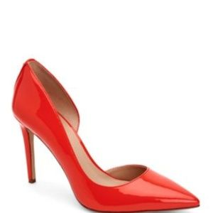 BCBGeneration Patent Red Pumps